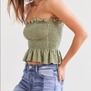 Truly madly deeply smocked top